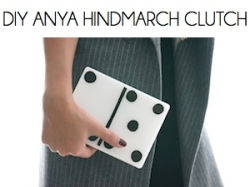 Box_DIY ANYA HINDMARCH CLUTCH
