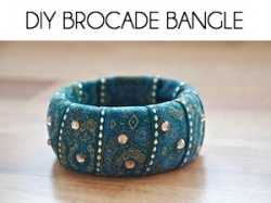 Box_DIY BROCADE BANGLE