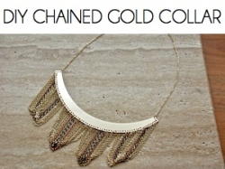 Box_DIY CHAINED GOLD COLLAR