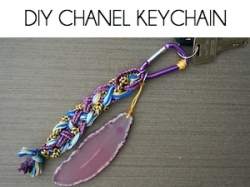 Box_DIY CHANEL KEYCHAIN