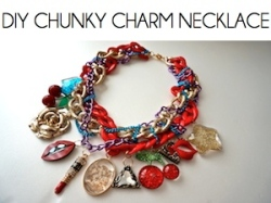 Box_DIY CHUNKY CHARM NECKLACE