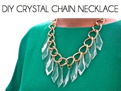 Box_DIY CRYSTAL CHAIN NECKLACE