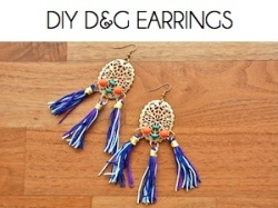 Box_DIY D&G EARRINGS