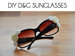Box_DIY D&G SUNGLASSES