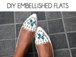 Box_DIY EMBELLISHED FLATS