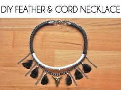Box_DIY FEATHER & CORD NECKLACE
