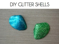 Box_DIY GLITTER SHELLS