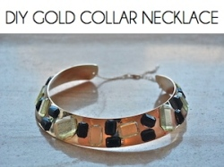 Box_DIY GOLD COLLAR NECKLACE