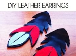 Box_DIY LEATHER EARRINGS