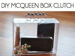 Box_DIY MCQUEEN BOX CLUTCH