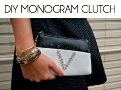 Box_DIY MONOGRAM CLUTCH