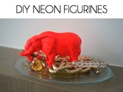 Box_DIY neon figurines
