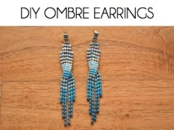 Box_DIY OMBRE EARRINGS