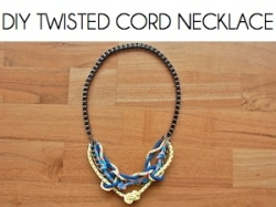 Box_DIY TWISTED CORD NECKLACE