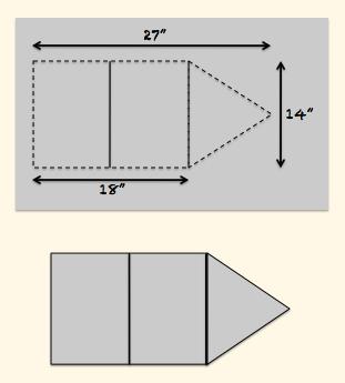 DIY Gingham Envelope Clutch - VSLAWSON