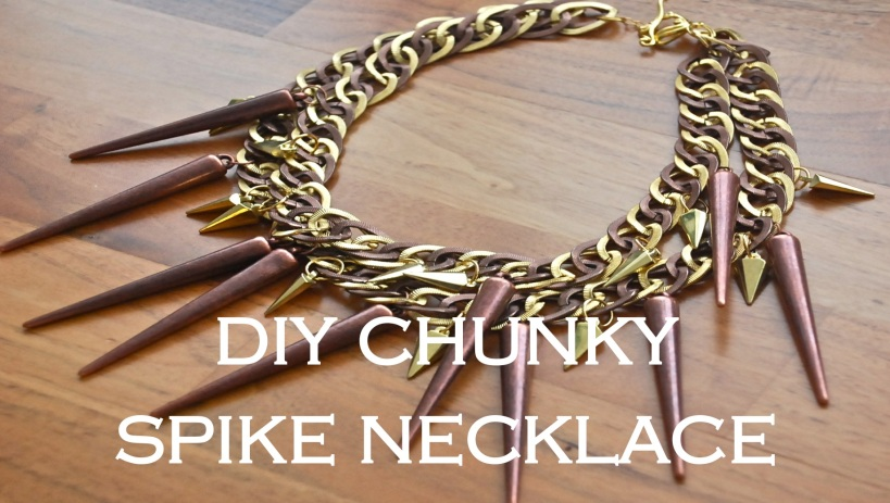 Chunky Spike Necklace