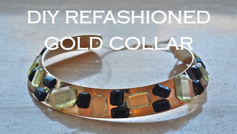 Refashioned Gold Collar