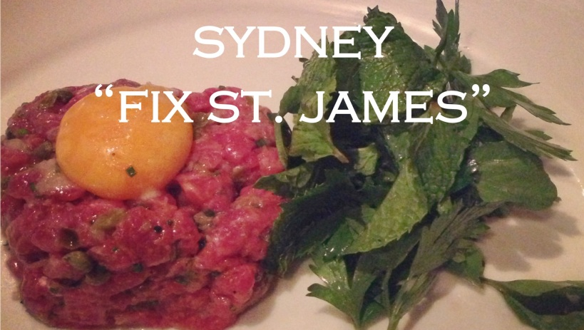 Sydney Fix St James