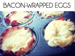 bacon wrapped eggs BOX
