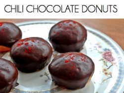 chili chocolate donut BOX