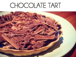chocolate tart BOX