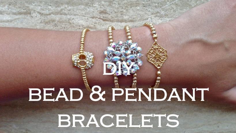 Bead and Pendant Bracelet