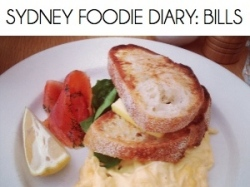 SYDNEY FOODIE DIARY BILLS2