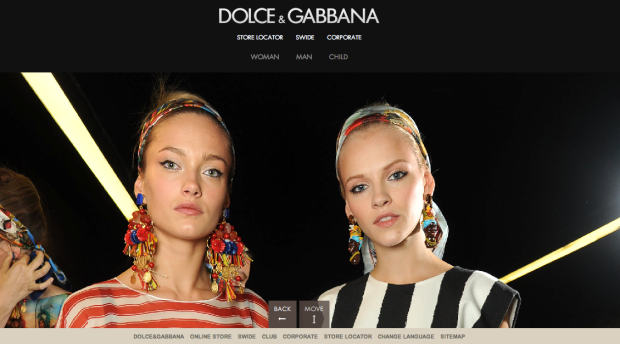 Dolce & Gabbana SS13 Earrings