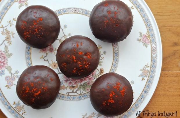 Homemade Chili Chocolate Doughnuts
