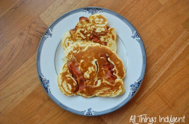 Homemade Bacon Pancakes