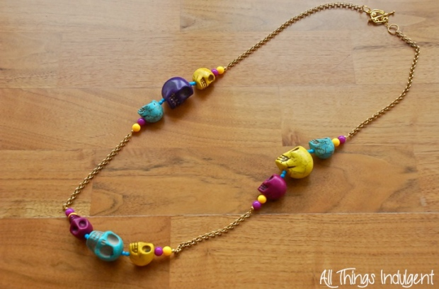 DIY Sugar Skulls Chain
