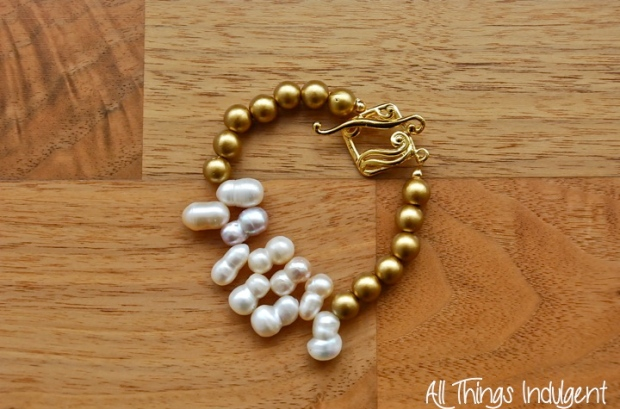 Pearl & Gold Arm Candy