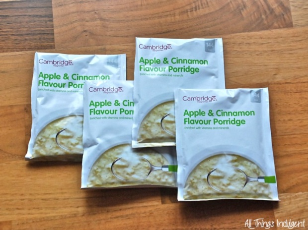 Cambridge Weight Plan Porridge Sachet