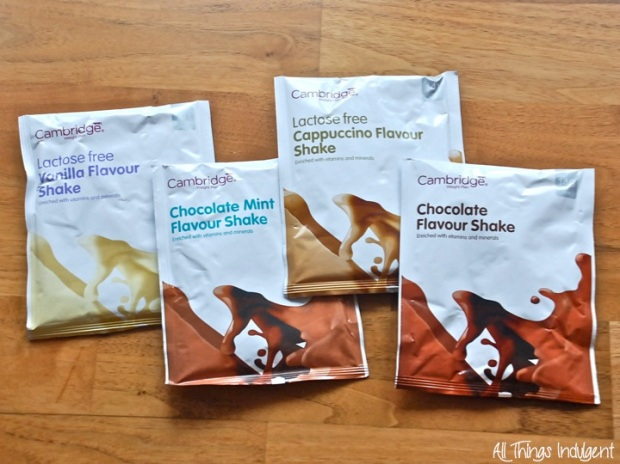 Cambridge Weight Plan Shakes Sachets