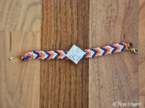 DIY Jewelled Friendship Bracelet