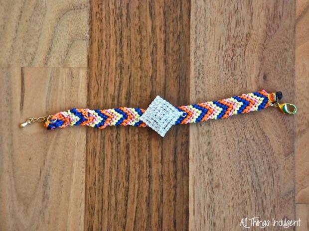 DIY Jewelled Friendship Bracelet