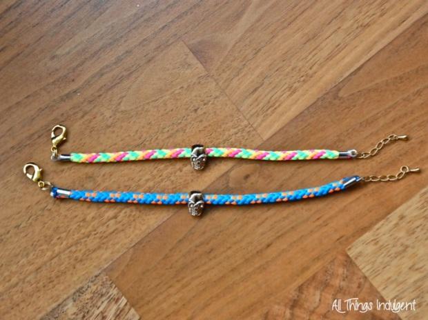 Neon Cord Bracelet