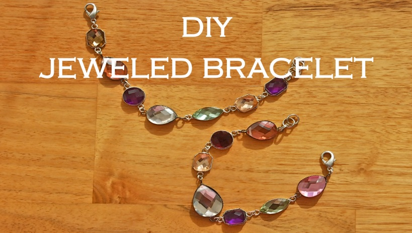 DIY Jewelled Bracelet