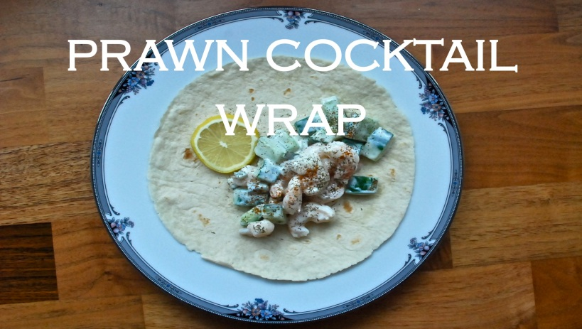 Prawn Cocktail Wrap