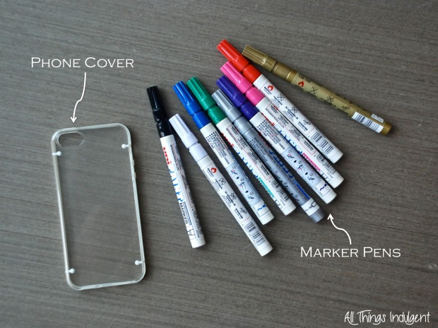DIY Phone Case Materials