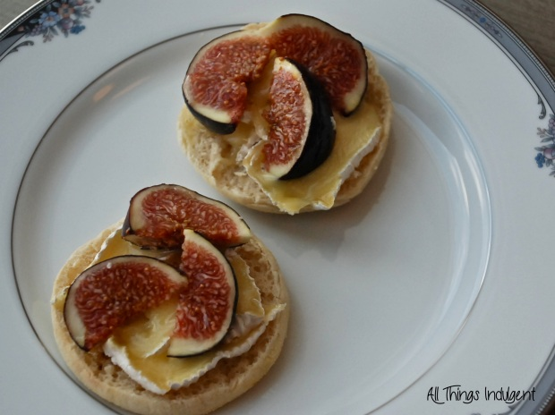 Fig and Camembert Sandwich