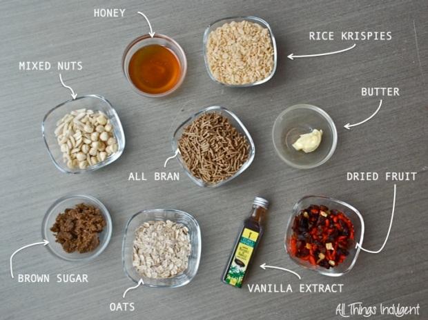 Homemade Energy Bar Ingredients