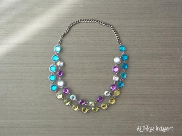 DIY Jewel Necklace