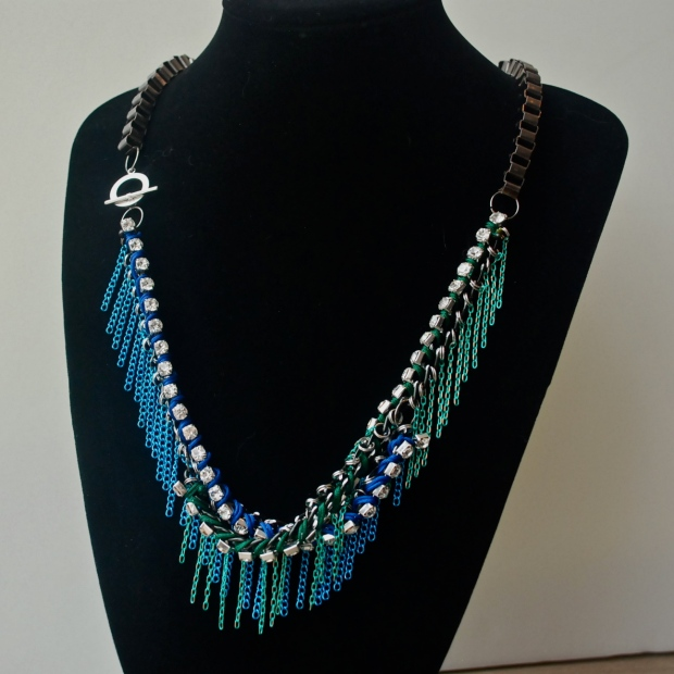 "All Things Indulgent ""Waterfall Necklace"" on Glamourpods.com - HK$1400"