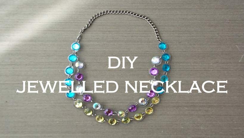 DIY Jewelled Necklace