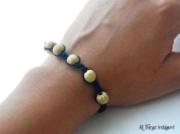 DIY Shamballa Bracelet 2