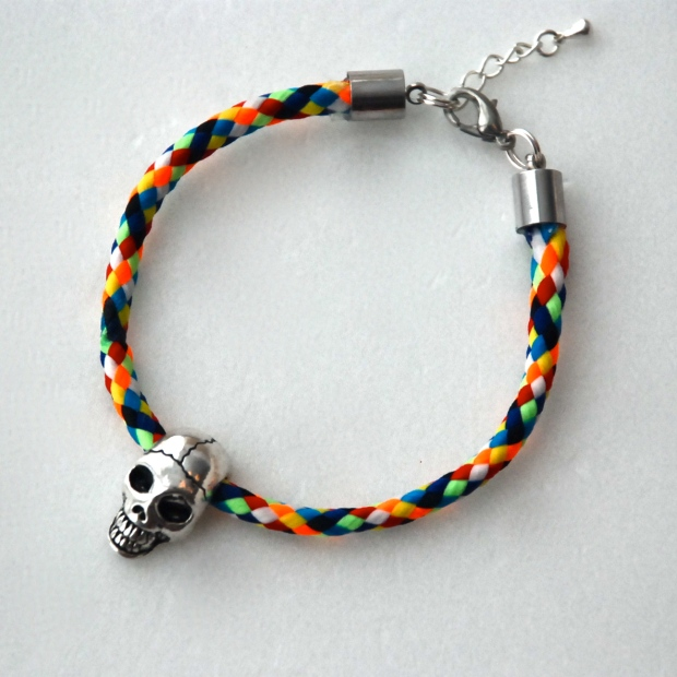 All Things Indulgent Skull Bracelet