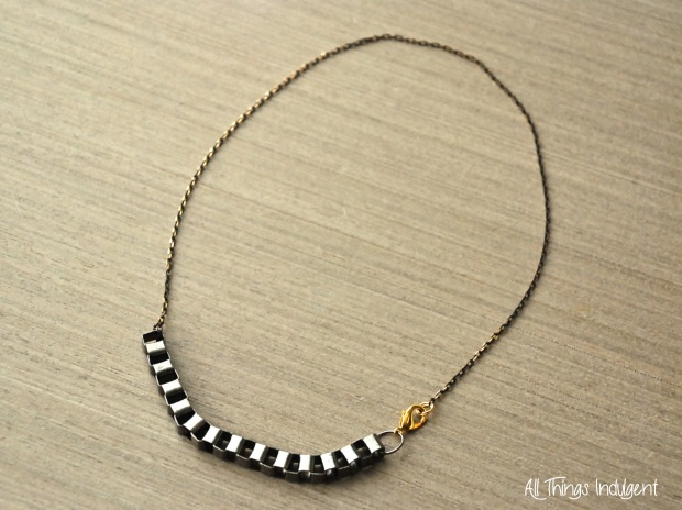 DIY Box Chain Necklace