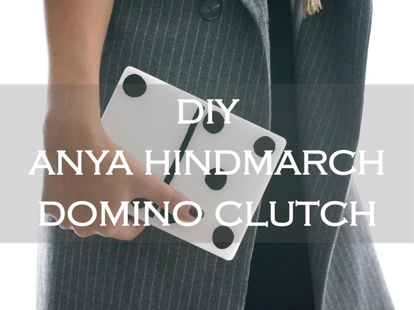 DIY Domino Clutch
