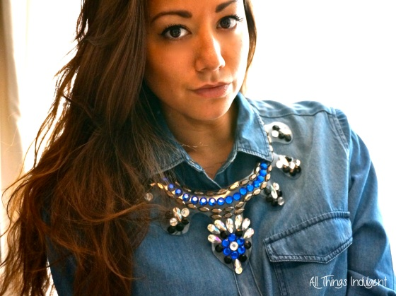 Crystal Bib Necklace portrait